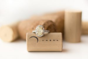 Umbra cork and engagement ring