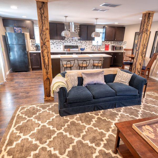 services cottage interior